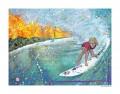 "Soul Surfer Print 11""x14"""